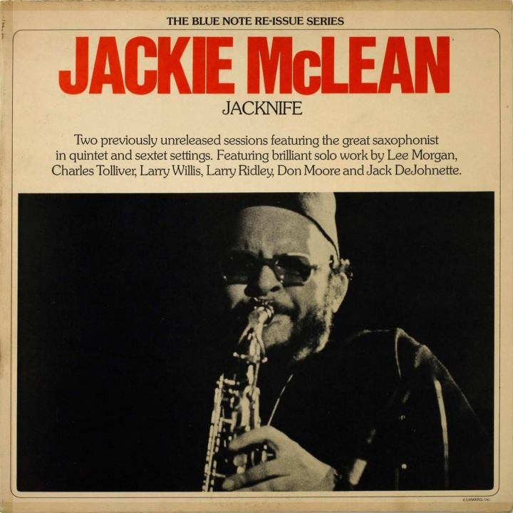Image result for Jackie McLean: Jacknife