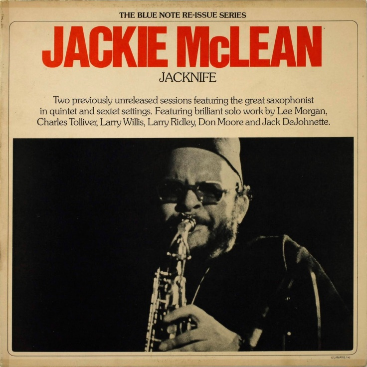 Image result for Jackie McLean: Jacknife